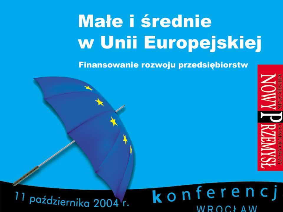 IRC West Poland Wrocław, 11 października 2004 3.Możliwości finansowania wdrożeń H.