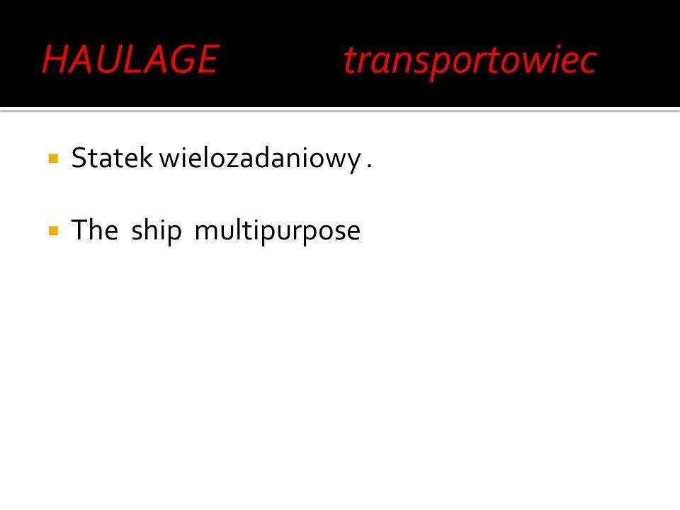 przewóz towarów (lub osób, jednak określenia używa się najczęściej w odniesieniu do towarów) przez więcej niż jeden środek różnych gałęzi transportu (np.