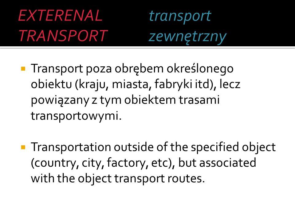 Przemieszczanie towarów pomiędzy wskazanymi punktami na lądzie przy użyciu pojazdów drogowych.