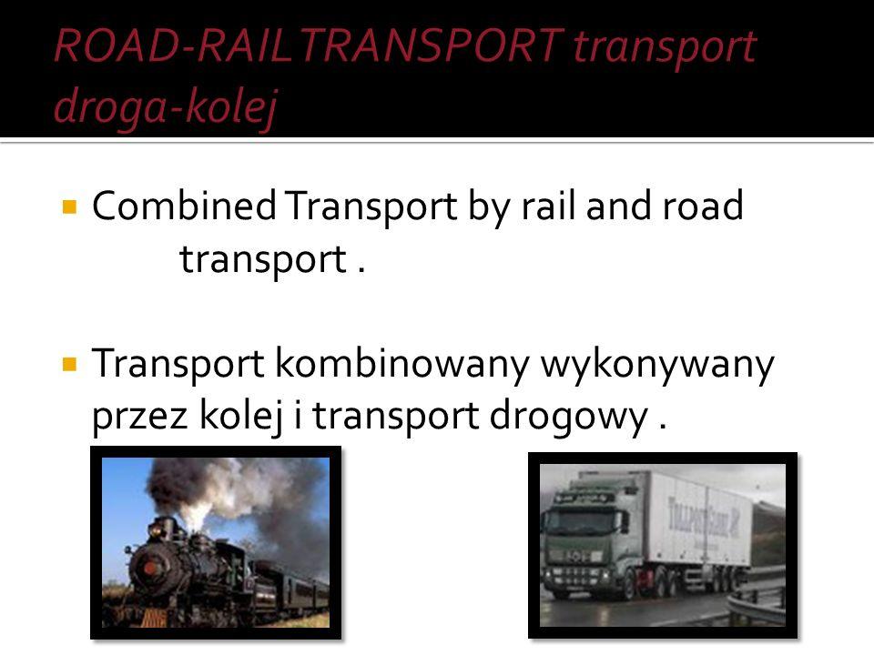 Transport within the specified object. Transport w obrębie określonego obiektu.