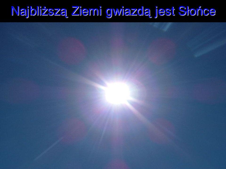 Najbliższą Ziemi gwiazdą jest Słońce