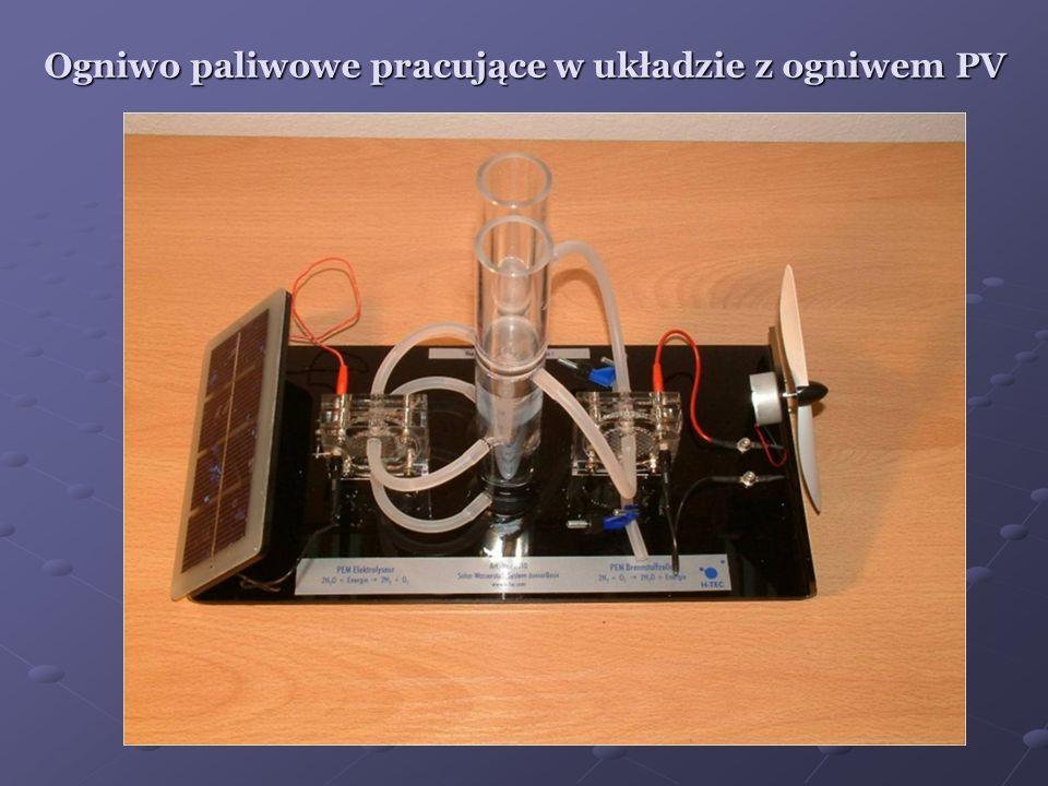 Ogniwo paliwowe pracujące w układzie z ogniwem PV
