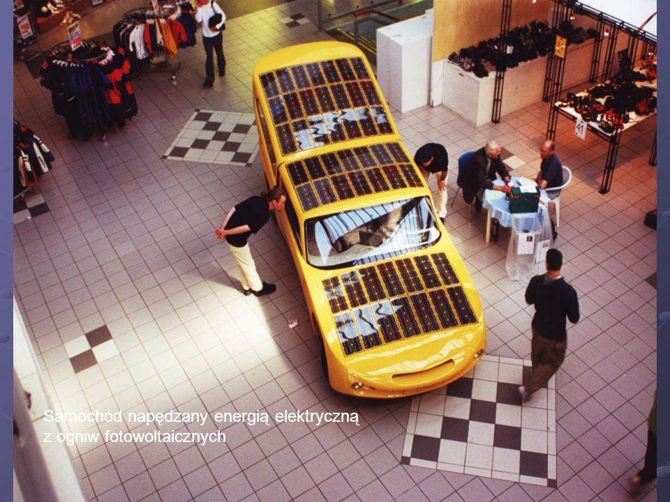 Samochód napędzany energią elektryczną z ogniw fotowoltaicznych