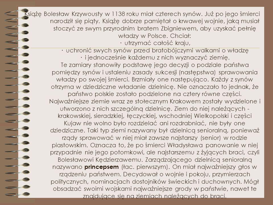 Rozbicie dzielnicowe 1138 – 1320 Autorzy: Paulina Nazarczuk Marlena Kucharska