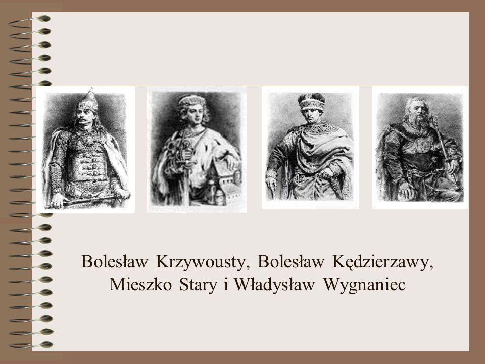 Książę Bolesław Krzywousty w 1138 roku miał czterech synów. Już po jego śmierci narodził się piąty. Książę dobrze pamiętał o krwawej wojnie, jaką musi