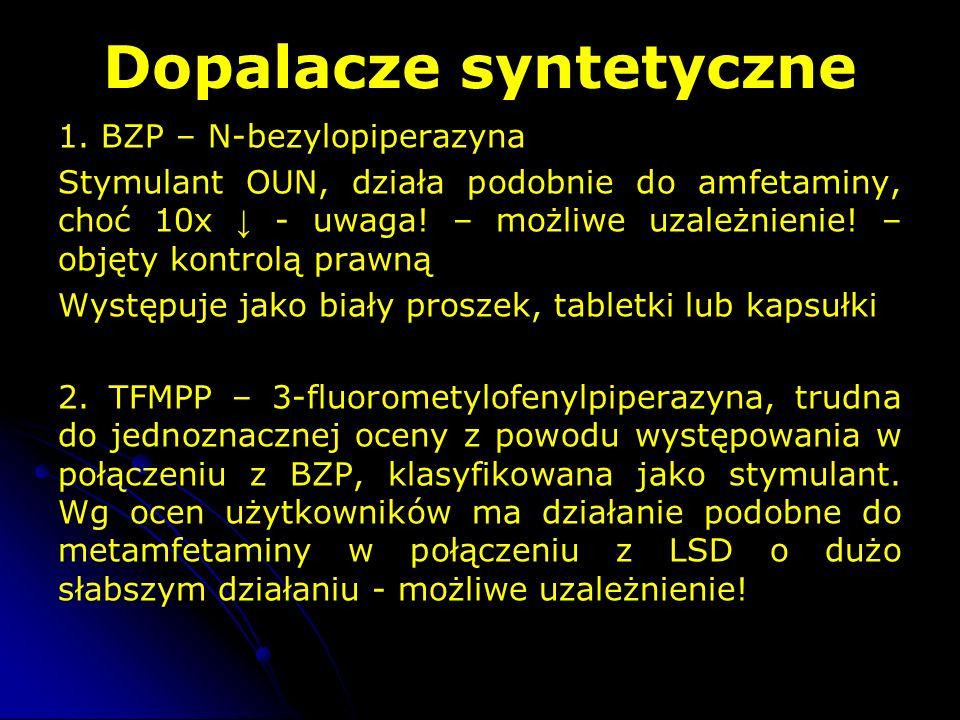 Dopalacze syntetyczne 1.