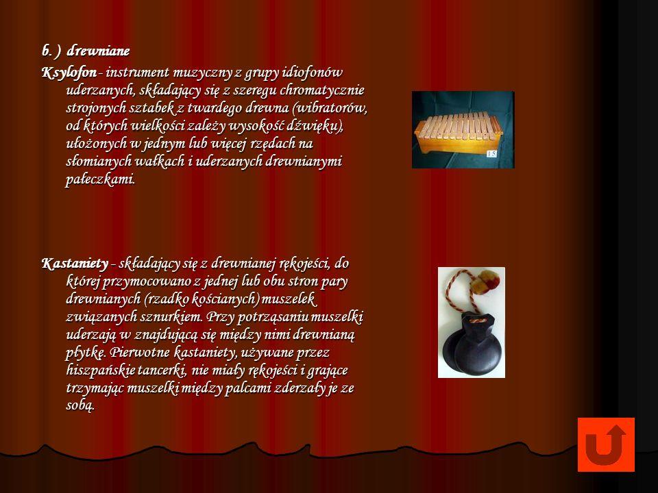 Talerze Talerze - Trójkąt - wibrafon - Gong - Tam - tam