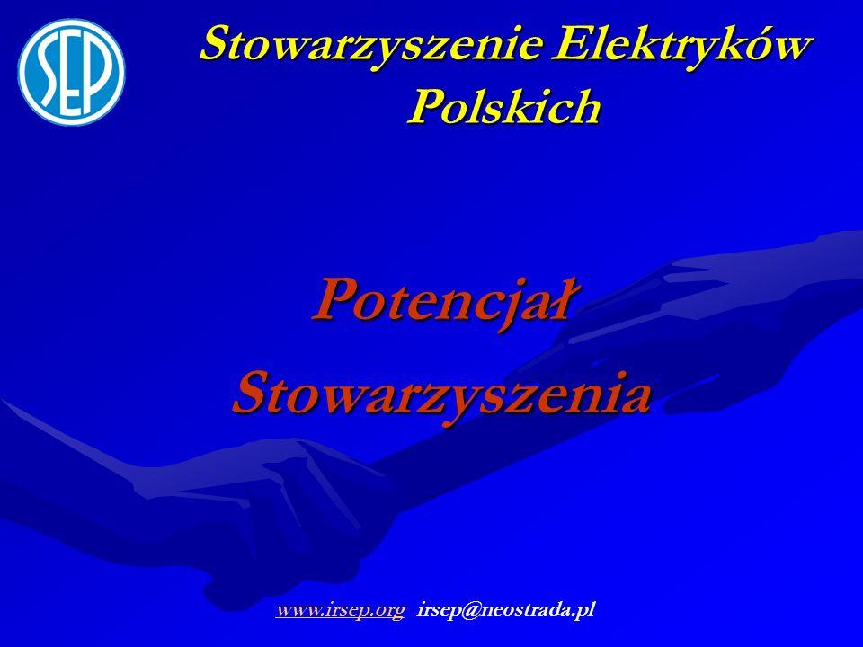 Stowarzyszenie Elektryków Polskich PotencjałStowarzyszenia www.irsep.orgwww.irsep.org irsep@neostrada.pl