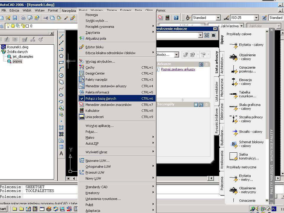 Acad 2k6 i SQL