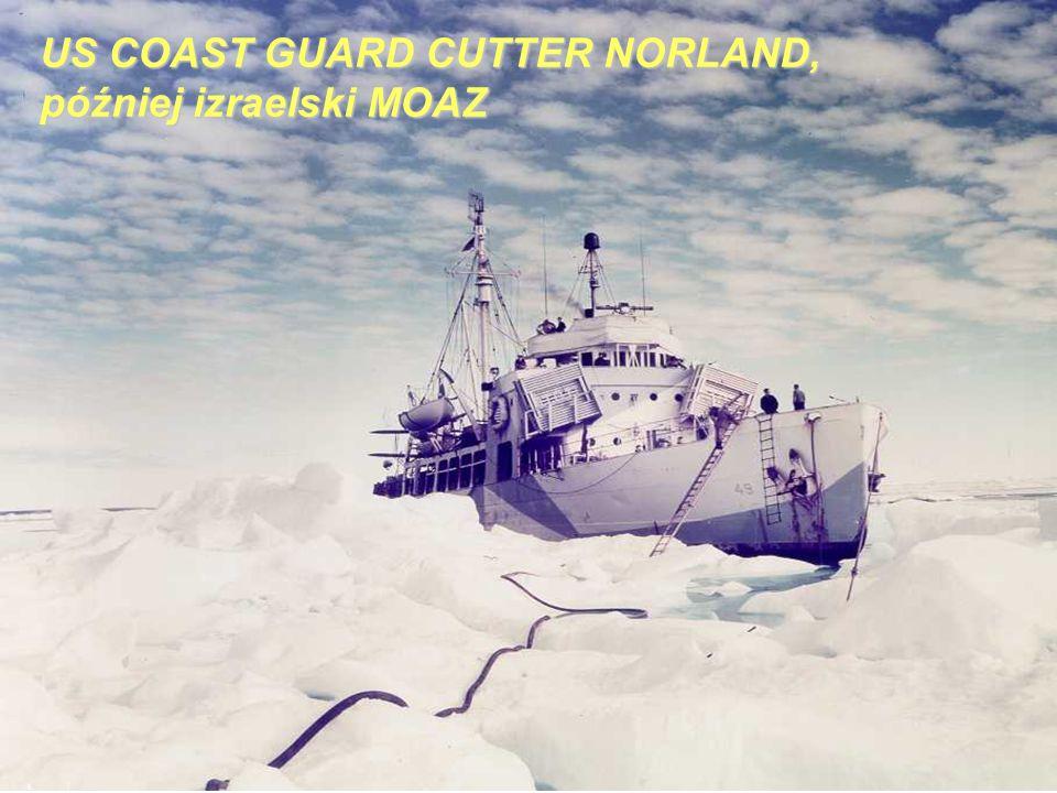 US COAST GUARD CUTTER NORLAND, później izraelski MOAZ