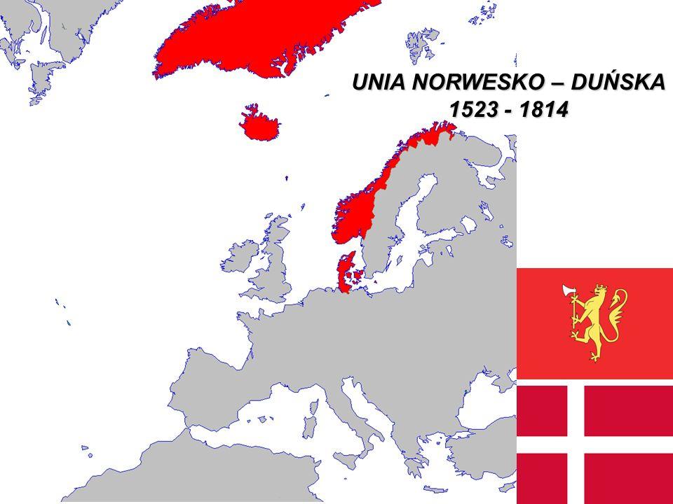UNIA NORWESKO – DUŃSKA 1523 - 1814