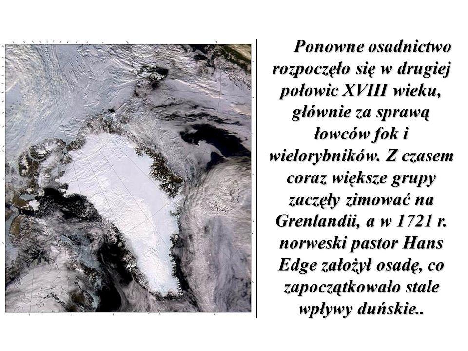W roku 1857 roku powstały na Grenlandii pierwsze organy samorządu na poziomie gmin i osiedli powstały, a uprawnienia rad gminnych i municypalnych rozszerzono w roku 1908.