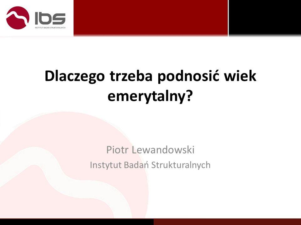 Pytania www.ibs.org.pl2 Czy po reformie będzie praca dla 50 – latka.