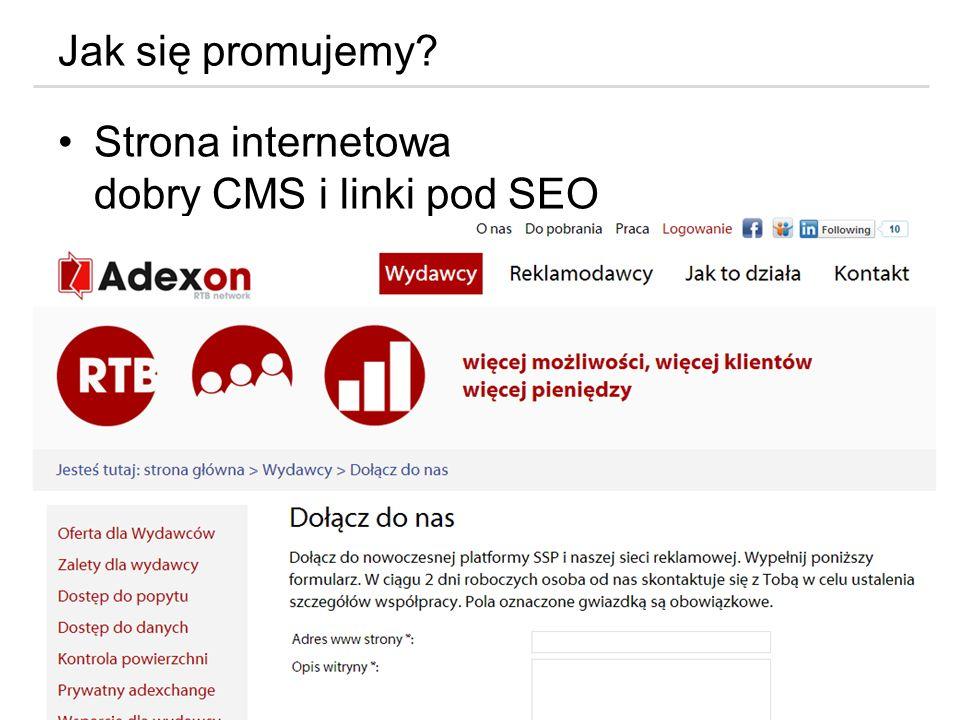 Marketing 360 w Internecie Jak się promujemy? Strona internetowa dobry CMS i linki pod SEO