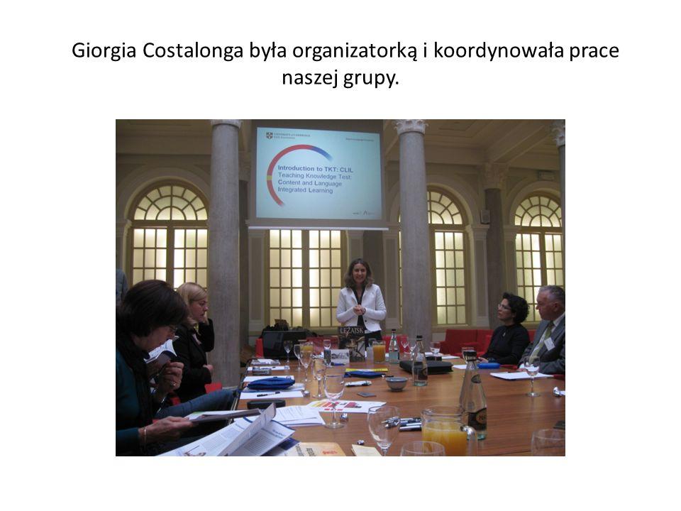 Każdy z uczestników przedstawił prezentację o systemie edukacji w swoim kraju oraz o swojej pracy.