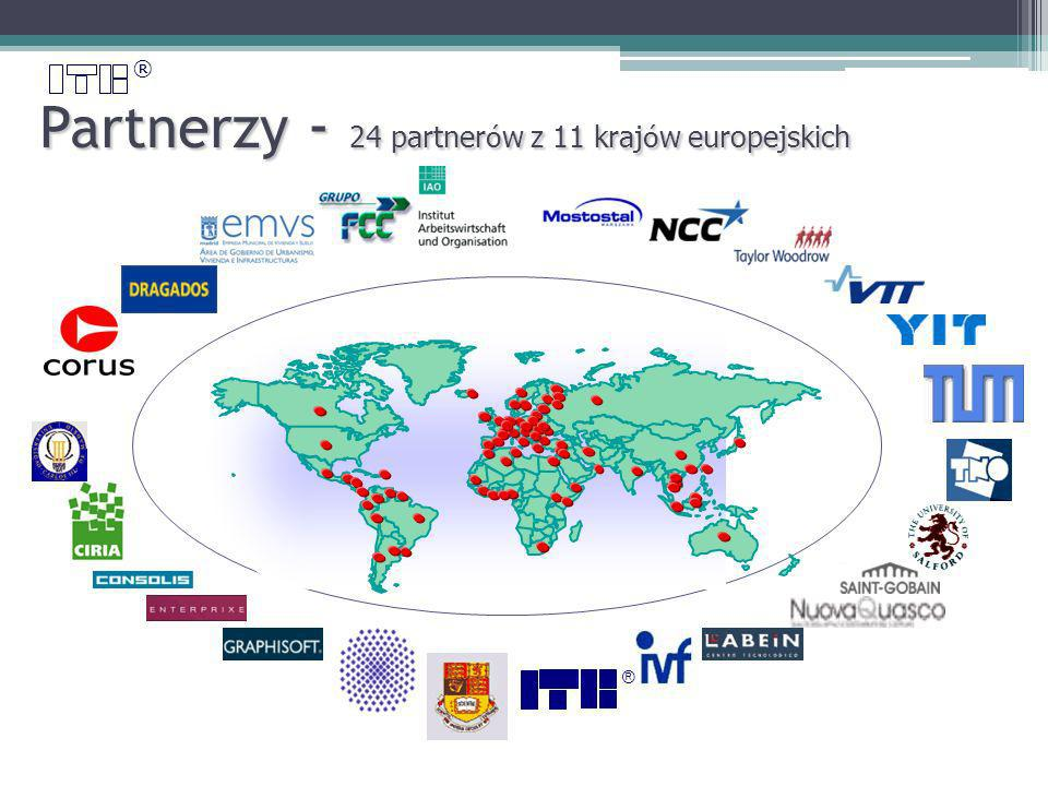 ® Partnerzy - 24 partner ó w z 11 kraj ó w europejskich ®