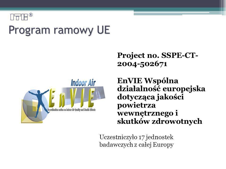 ® Program ramowy UE Project no.