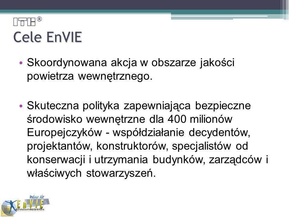 ® Cele EnVIE Skoordynowana akcja w obszarze jakości powietrza wewnętrznego.