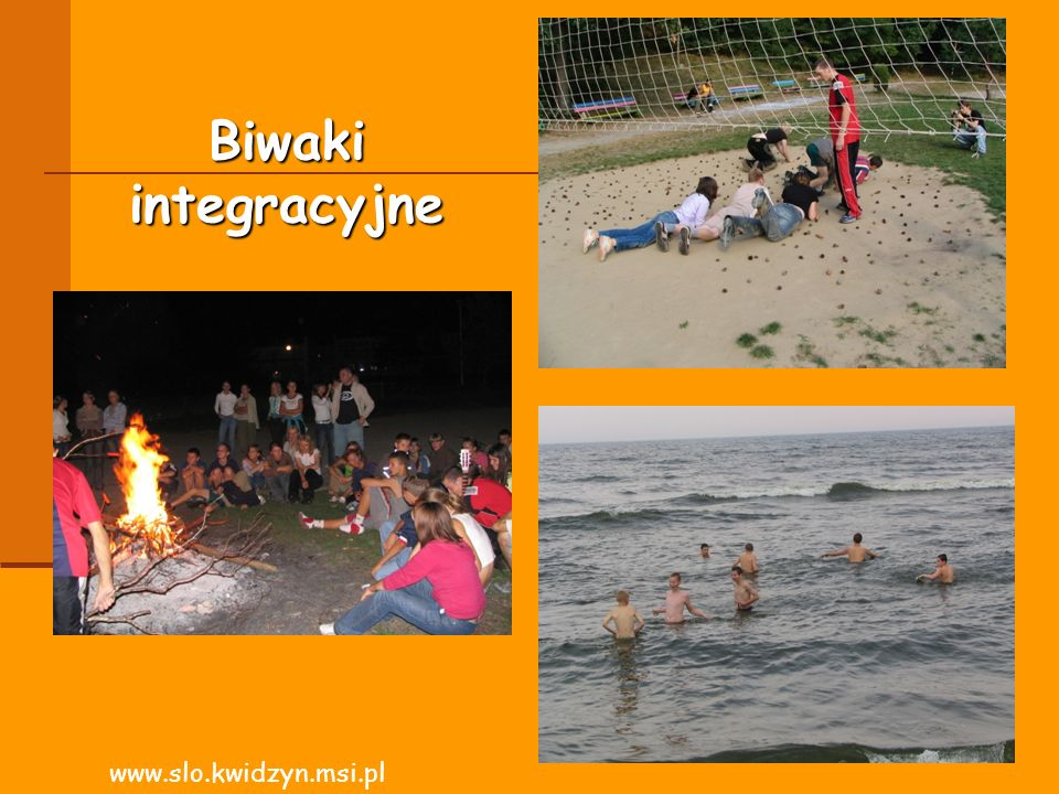 Biwaki integracyjne www.slo.kwidzyn.msi.pl