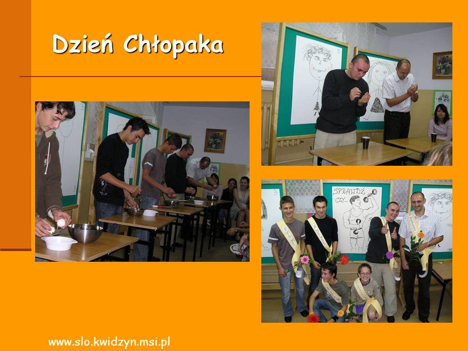 Dzień Chłopaka www.slo.kwidzyn.msi.pl