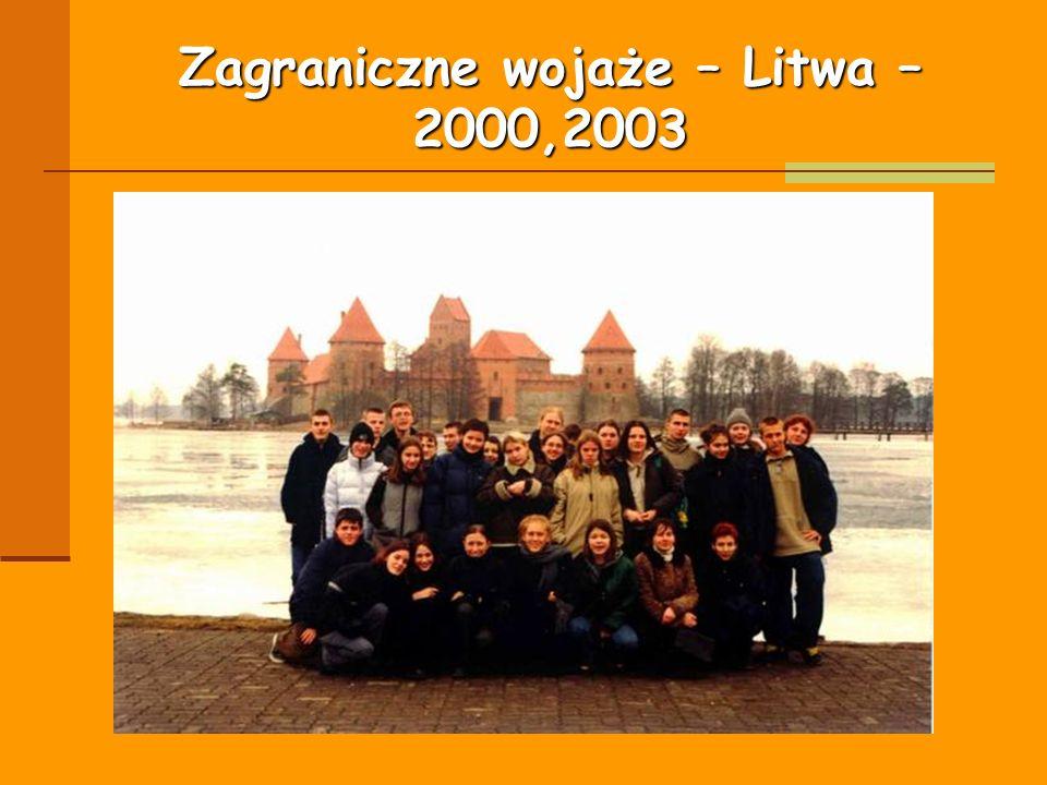Zagraniczne wojaże – Litwa – 2000,2003
