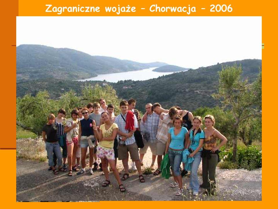 Zagraniczne wojaże – Chorwacja – 2006