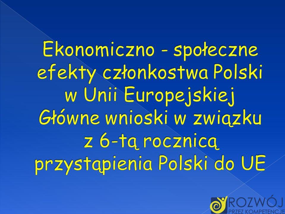 Przystąpienie Polski do UE 1 maja 2004 r.