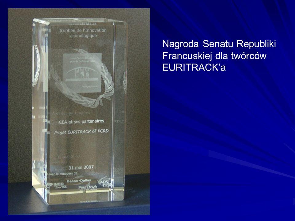 Nagroda Senatu Republiki Francuskiej dla twórców EURITRACKa
