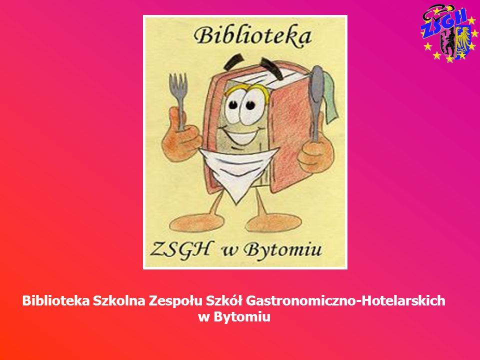 Biblioteka Szkolna Zespołu Szkół Gastronomiczno-Hotelarskich w Bytomiu mieści się w budynku na ul.
