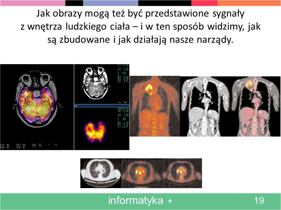 Obrabiane komputerowo obrazy będące przedmiotem badań informatyka + 18