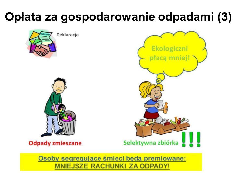 Opłata za gospodarowanie odpadami (3)