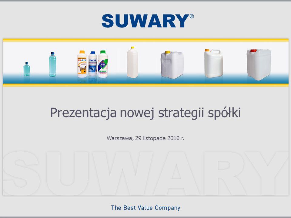Warszawa, 29 listopada 2010 r. Prezentacja nowej strategii spółki