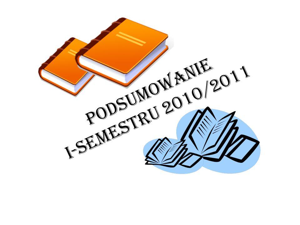 Podsumowanie I-semestru 2010/2011