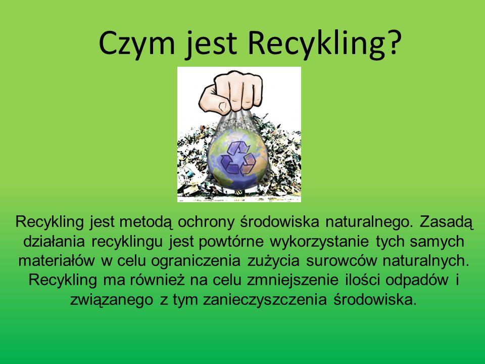 Śmieci wytworzone w domach powinny być zbierane w gospodarstwach domowych i przekazywane do oznakowanych pojemników, z zachowaniem podziału na rodzaj materiałów.