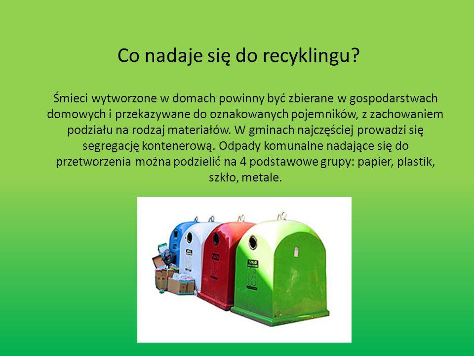 1.Ponowne zastosowanie - powtarzające się zastosowanie materiału lub produktu w tym samym celu (np.