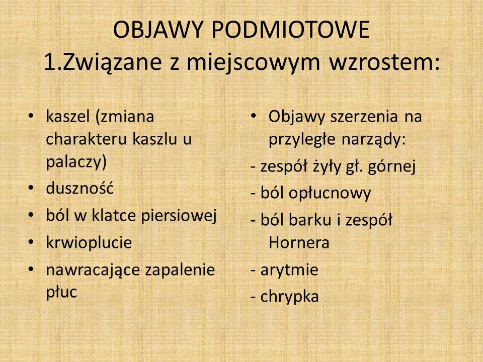 OBJAWY PODMIOTOWE 2.
