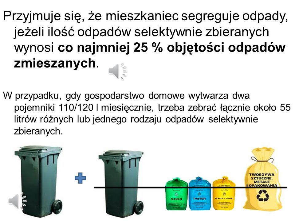 JAK SEGREGOWAC ODPADY? Wstęp W ramach opłaty od właściciela nieruchomości zostanie zabrana każda ilość odpadów selektywnie zebranych.