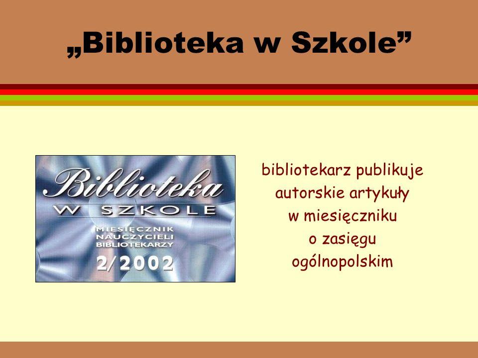 Coca-Cola Poland Services W ramach akcji Coca-Coli Wyczaruj dziecku książkę biblioteka otrzymała 50 książek beletrystycznych i popularnonaukowych dla