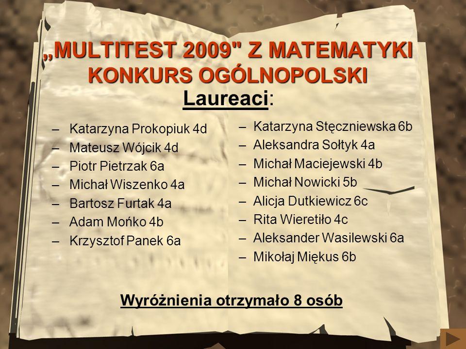 MULTITEST 2009