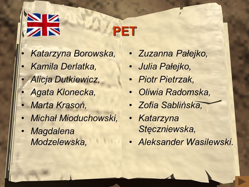 MIĘDZYNARODOWY OTWARTY TURNIEJ SZACHOWY I miejsce (w kategorii do lat 12) –Asia Ostrowska (kl. 5b)