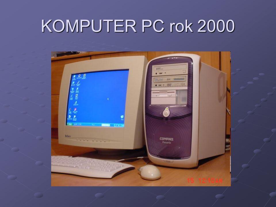 KOMPUTER PC rok 2000