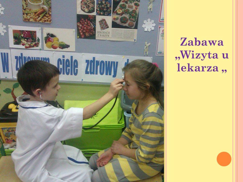 Zabawa Wizyta u lekarza