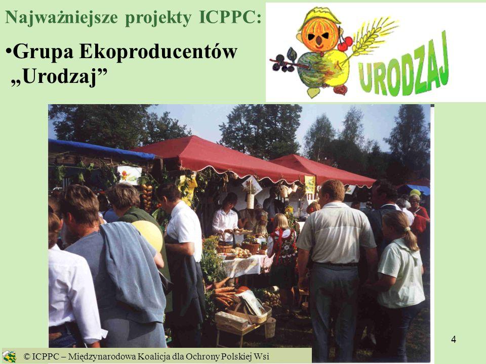 5 Ginące Zawody © ICPPC – Międzynarodowa Koalicja dla Ochrony Polskiej Wsi Najważniejsze projekty ICPPC:
