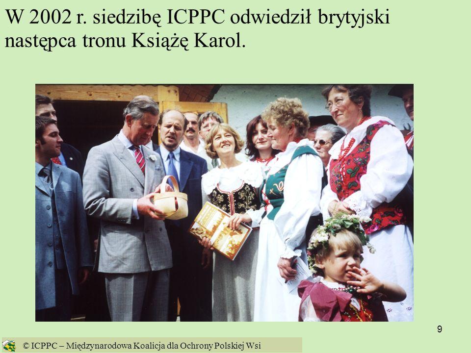 110 Żywność genetycznie modyfikowana jest przedłużeniem energochłonnego, agrochemicznego rolnictwa Źródło: Fatal Harvest Źródło: http://www.organicconsumers.org/ge/doubt060804.cfm © ICPPC – Międzynarodowa Koalicja dla Ochrony Polskiej Wsi