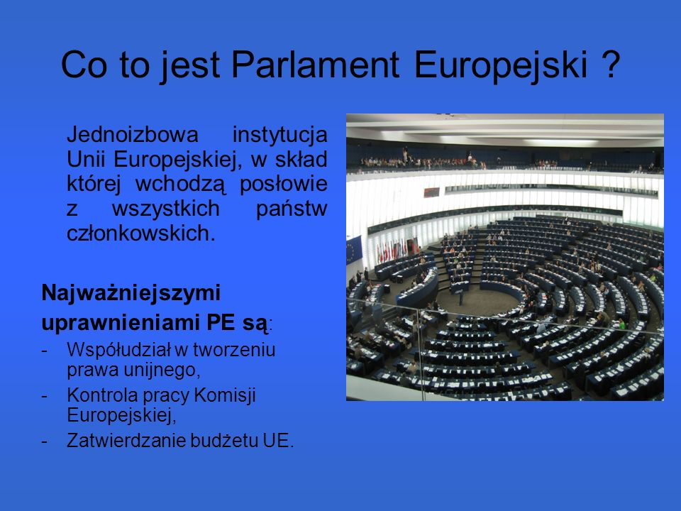 Kogo wybieramy.Cała UE wybierać będzie 735 posłów.