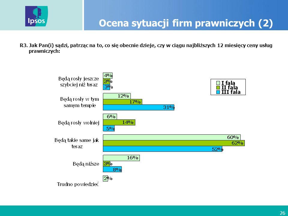 26 Ocena sytuacji firm prawniczych (2) R3.