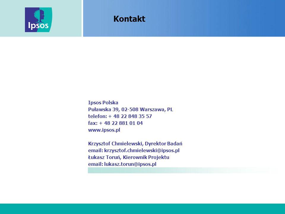 Nimm2 Lachgummi Ipsos Polska Puławska 39, 02-508 Warszawa, PL telefon: + 48 22 848 35 57 fax: + 48 22 881 01 04 www.ipsos.pl Krzysztof Chmielewski, Dyrektor Badań email: krzysztof.chmielewski@ipsos.pl Łukasz Toruń, Kierownik Projektu email: lukasz.torun@ipsos.pl Kontakt
