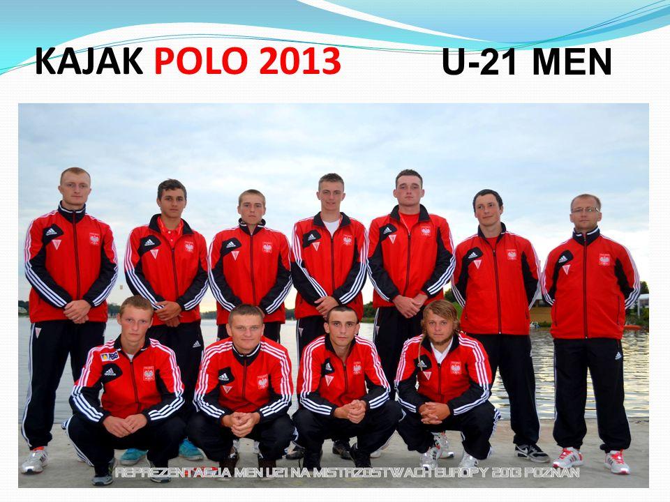 KAJAK POLO 2013 U-21 MEN