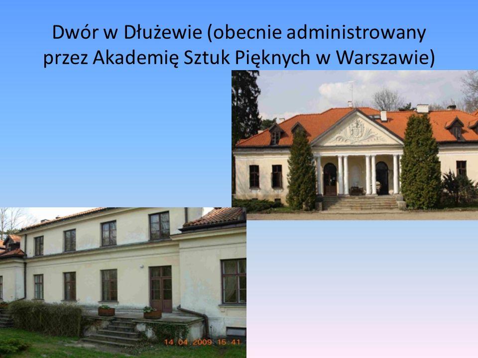 Dwór w Dłużewie (obecnie administrowany przez Akademię Sztuk Pięknych w Warszawie)