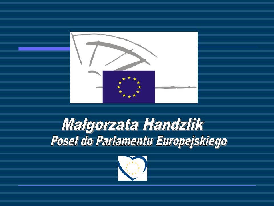 Parlament Europejski Małgorzata Handzlik Poseł do Parlamentu Europejskiego